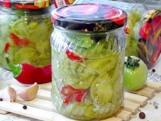 Острый салат Кобра из зеленых помидоров - для любителей ядреных закусок